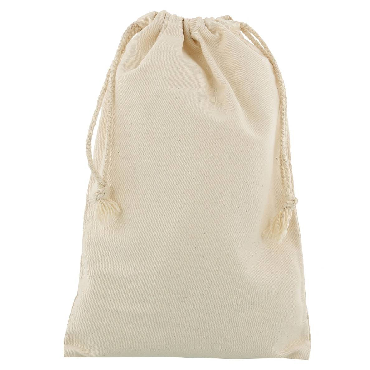 cotton drawstring bag20x30cm