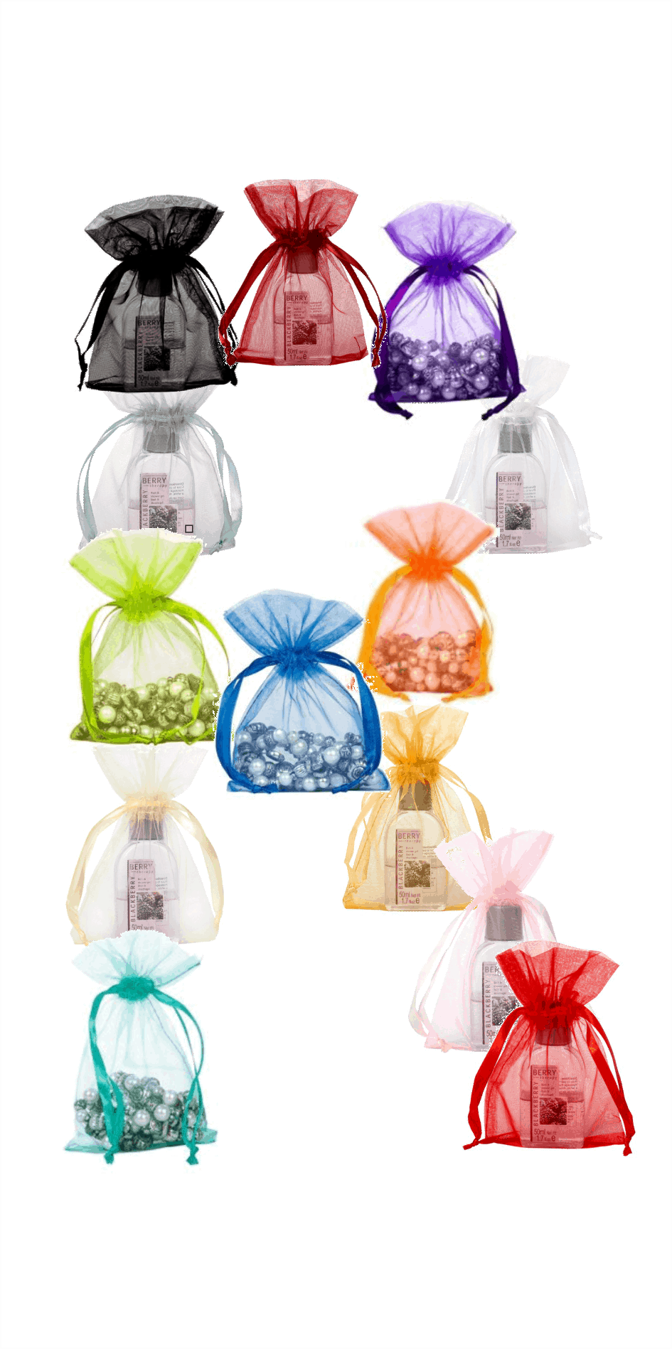 organza bags extra small 10x