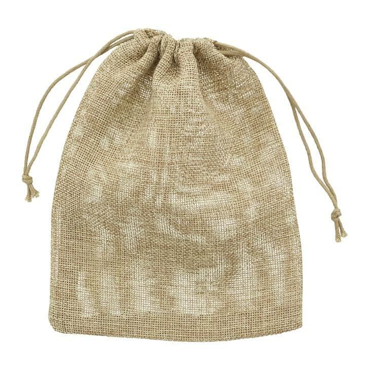 small hessian sack 15x20cm
