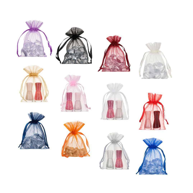 small organza bags 10x15cm